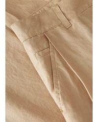 Emporio Armani Loose Jeans - Natural