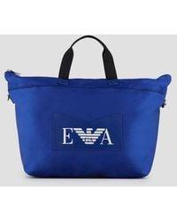 Emporio Armani Duffel Bag - Blue