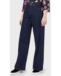 Emporio Armani Flared Jeans - Blue