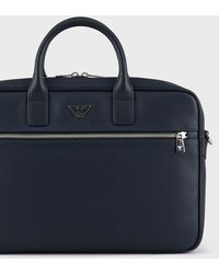 Emporio Armani Briefcase - Blue