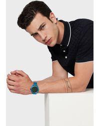 Emporio Armani Hybrid Watches - Blue