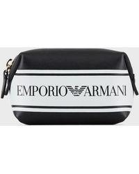 Emporio Armani Beauty Case - Black