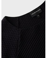 Emporio Armani Knitted Top - Black
