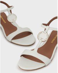 Emporio Armani Sandals - White