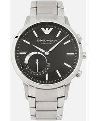 Emporio Armani - Steel Strap Watch - Lyst