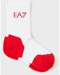 Emporio Armani Socks - White