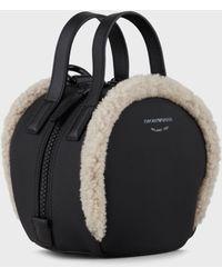 Emporio Armani Top Handles - Black