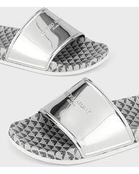 Emporio Armani Sandals - Metallic