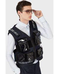 Emporio Armani Man Shield Sunglasses - Grey