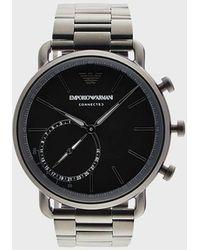 Emporio Armani Reloj con pulsera de metal - Negro
