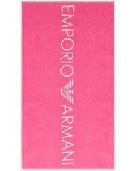 Emporio Armani Towel - Pink