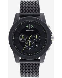 Armani Exchange Analog Watches - Schwarz