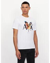 Armani Exchange - Camiseta con logotipo - Lyst