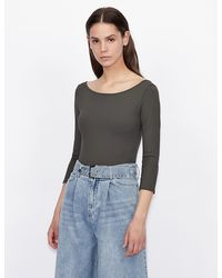 Armani Exchange Solid Top - Green