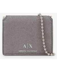 Armani Exchange Portafoglio - Grigio