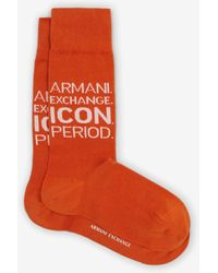 Armani Exchange Sock - Naranja
