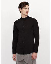 Armani Exchange Camisa lisa - Negro