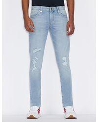 Armani Exchange Skinny Jeans - Blue