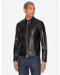 b4411af3b Faux Leather Racer Jacket - Black