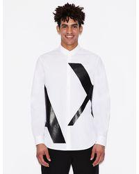 Armani Exchange Regular-fit Shirt - White