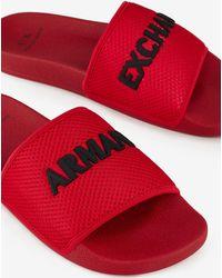 Armani Exchange Flip-flop - Red