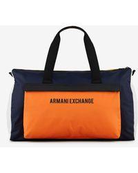 Armani Exchange Bolsa con detalles en contraste - Multicolor