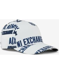 Armani Exchange Sombrero - Blanco