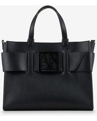 Armani Exchange Tote Bag - Black