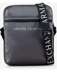 Armani Exchange Crossbody Bag - Grau