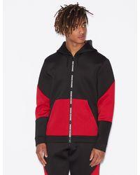 Armani Exchange Neoprene Sweatshirt - Black