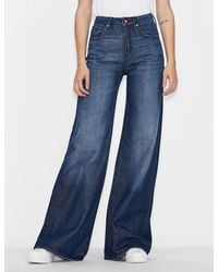 Armani Exchange Flared Jeans - Blue