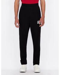 Armani Exchange Athleisure Sweatpants - Black