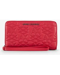 Armani Exchange Wallet - Red