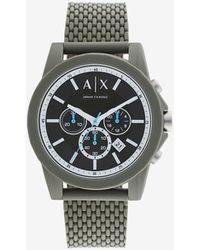 Armani Exchange Analog Watches - Grau