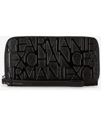 Armani Exchange - Portafoglio da polso - Lyst