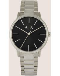 Armani Exchange - Minimalist Stainless Steel Bracelet Watch - Lyst