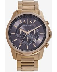 Armani Exchange Analog Watches - Mettallic