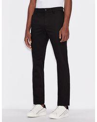 Armani Exchange Chino Pants - Black