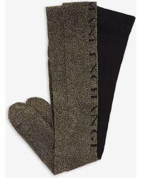 Armani Exchange Sock - Metálico
