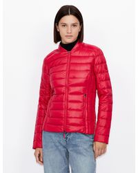 Armani Exchange - Padded Jacket With Duck Down - Lyst
