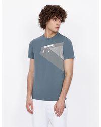 Armani Exchange T-shirt slim fit - Grigio
