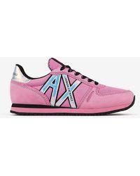Armani Exchange Trainers - Pink
