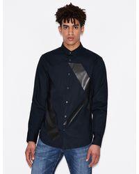 Armani Exchange Regular-fit Shirt - Blue