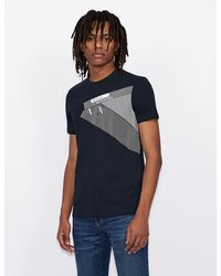 Armani Exchange T-shirt slim fit - Blu