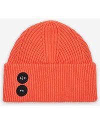 Armani Exchange Sombrero - Naranja
