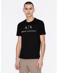 Armani Exchange T-shirt slim fit - Nero