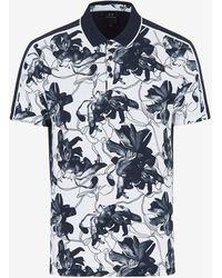 Armani Exchange Short Sleeves Polo - Black
