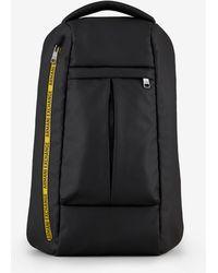 Armani Exchange Backpack With Logo Tape - Black