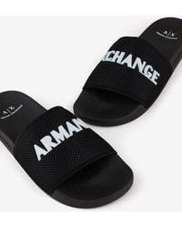 Armani Exchange Flip-flop - Black