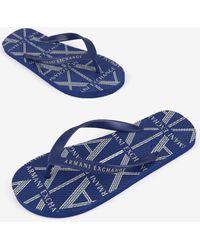 Armani Exchange Flip-flops - Blue